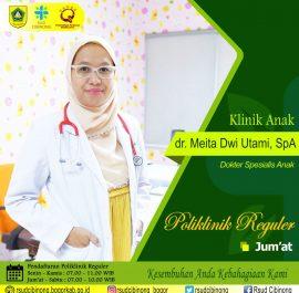 Klinik Anak – dr. Meita Dwi Utami, M.Sc, Sp.A