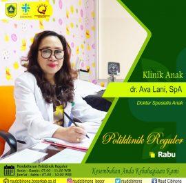Klinik Anak – dr. Ava Lanny, SpA
