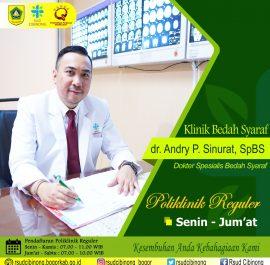 Klinik Bedah Syaraf – dr. Andry P. Sinurat, SpBS