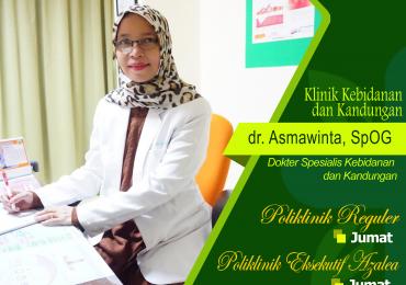 KLINIK KEBIDANAN & KANDUNGAN – dr. Asmawinta, Sp.OG