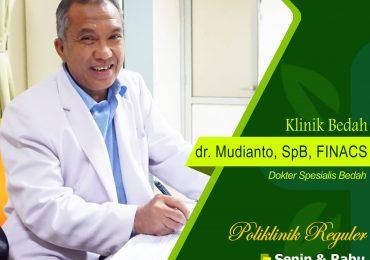 KLINIK BEDAH UMUM – dr. Mudianto, Sp.B, FINACS