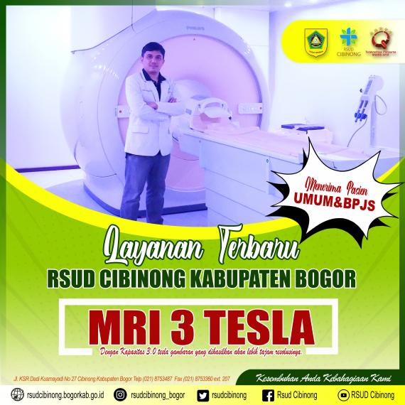 Miliki MRI 3 Tesla, RSUD Cibinong Semakin Percaya Diri