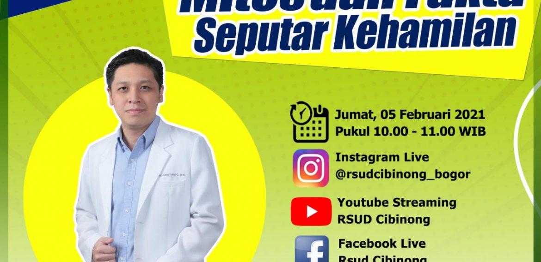 SAKSIKAN PROGRAM ASK THE DOCTOR JILID 10 DENGAN TEMA MITOS DAN FAKTA SEPUTAR KEHAMILAN