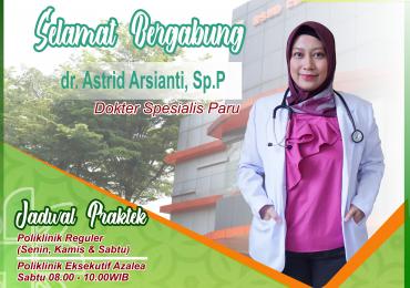 KLINIK PARU – dr Astrid Arsianti, Sp.P