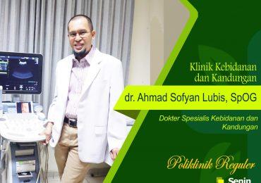 KLINIK KEBIDANAN & KANDUNGAN – dr. Ahmad Sofyan Lubis, Sp.OG