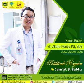 KLINIK BEDAH UMUM – dr. Alldila Hendy PS, Sp.B