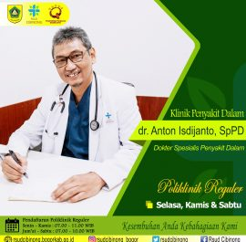 KLINIK PENYAKIT DALAM – dr. Anton Isdijanto, Sp.PD
