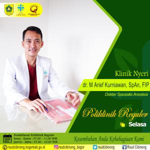 dr arif kurniawan span