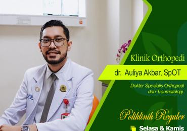 KLINIK ORTHOPEDI – dr. Auliya Akbar, Sp.OT
