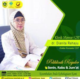 KLINIK MAWAR – dr. Dianita Rahayu