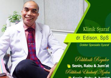 KLINIK SARAF – dr. Edison Marpaung, Sp.S