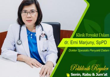 KLINIK PENYAKIT DALAM – dr. Erni Marjuny, Sp.PD, FINASIM