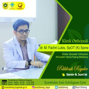 Dokter Orthopedi