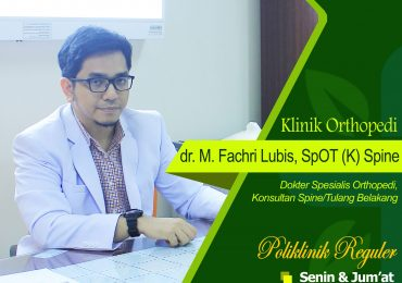 KLINIK ORTHOPEDI – dr. M Fachri Lubis, Sp.OT(K)-Spine
