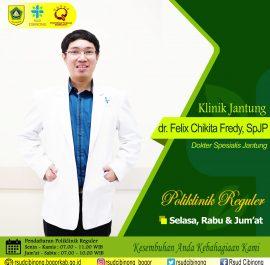 KLINIK JANTUNG – dr. Felix Chikita Fredy, Sp.JP, FIHA