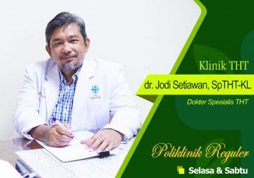 KLINIK THT – dr. Jodi Setiawan, Sp.THT-KL
