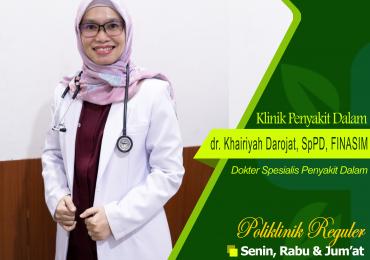 KLINIK PENYAKIT DALAM – dr. Khairiyah Darojat, Sp.PD, FINASIM