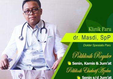 KLINIK PARU – dr. Masdi, Sp.P