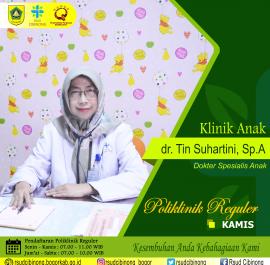 Klinik Anak – dr. Tin Suhartini, Sp.A