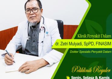 KLINIK GERIATRI – dr. Zetri Mulyadi, Sp.PD, FINASIM
