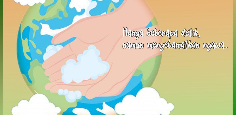 5 mei, hari cuci tangan sedunia