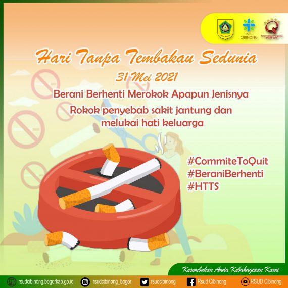 Hari Tanpa Tembakau Sedunia 2021