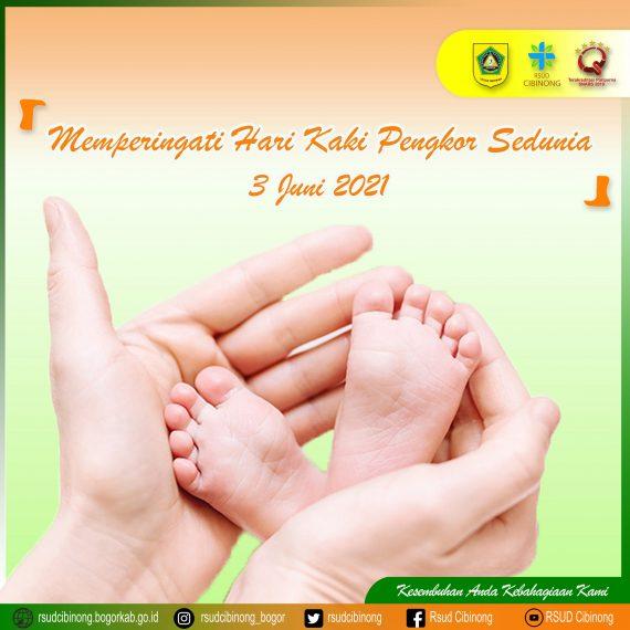 memperingati hari ctev (kaki pengkor) 3 juni 2021 : mengenal penyakit ctev (kaki pengkor) / club foot